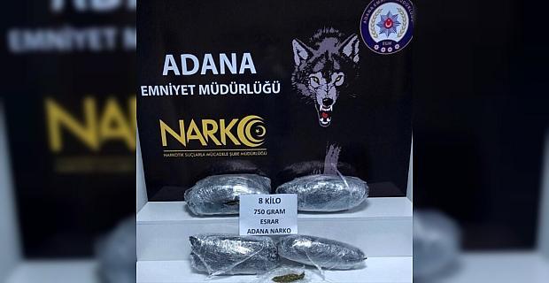Adana'da uyuşturucu operasyonlarında yakalanan 23 şüpheli tutuklandı