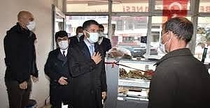 AK Parti Adana İl Başkanı Ay'dan ilçelere ziyaret