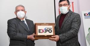 Başkan Mahçiçek, EXPO 2023 tanıtımını yaptı