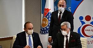 Kahramanmaraş Sütçü İmam Üniversitesi'nde 650 işçiyi kapsayan TİS imzalandı