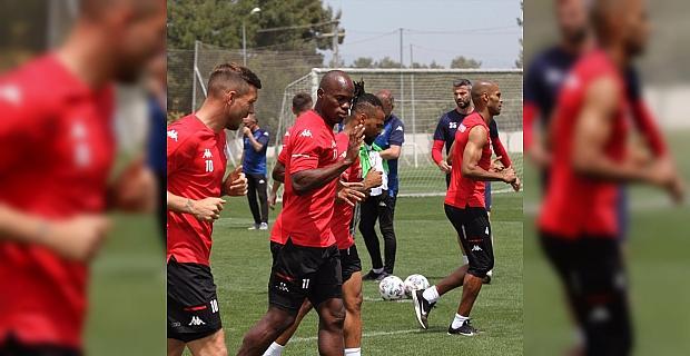 Antalyaspor, Fatih Karagümrük karşılaşmasının hazırlıklarına başladı