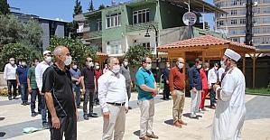 Antalya'da İsrail'in Filistin'e yönelik saldırıları protesto edildi
