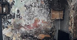 Hatay'da annesiyle tartıştıktan sonra bulunduğu odayı ateşe veren kişi öldü
