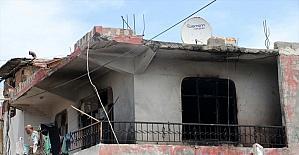 Hatay'da evde çıkan yangında 1'i çocuk 4 kişi dumandan etkilendi