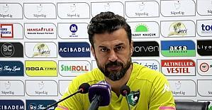 Hatayspor-Denizlispor maçının ardından