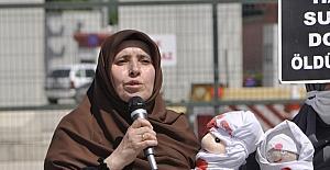 İsrail'in Filistin'e yönelik saldırıları, Adana'daki ABD Konsolosluğu önünde protesto edildi