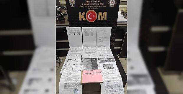Mersin'de tefecilik yaptıkları iddiasıyla yakalanan iki kişi tutuklandı