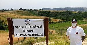 Ölen kedisini defnetmek için Gaziantep'den Osmaniye'ye getirdi