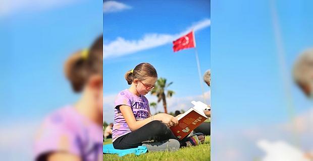 Serik'te kitap okuma etkinliği ve yarışması düzenlendi