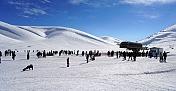 """Sezonu bugün açan """"Akdeniz'in kayak merkezi"""" ziyaretçilerini bekliyor"""