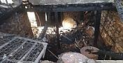 Kahramanmaraş'ta ev yangını maddi hasara neden oldu