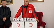Hatay'da Türk Kızılay'dan ihtiyaç sahibi ailelere gıda yardımı