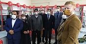 Göksun Esenköy Kütüphanesi açıldı