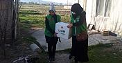 İHH Elbistan'da ihtiyaç sahibi 200 aileye ulaştı